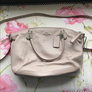 Coach - Light Gray Crossbody